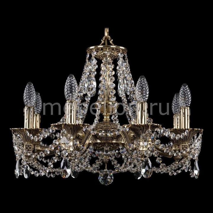 Подвесная люстра Bohemia Ivele Crystal 1710/8/160/C/GB подвесная люстра bohemia 1710 1710 3 160 c gb