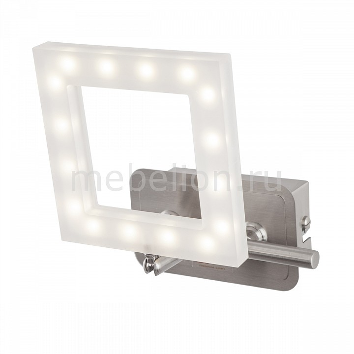 Бра IDLamp Piazza 106/1A-LEDWhitechrome