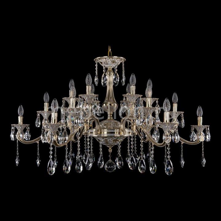 Подвесная люстра Bohemia Ivele Crystal 1709/18/410/A/GW 1709