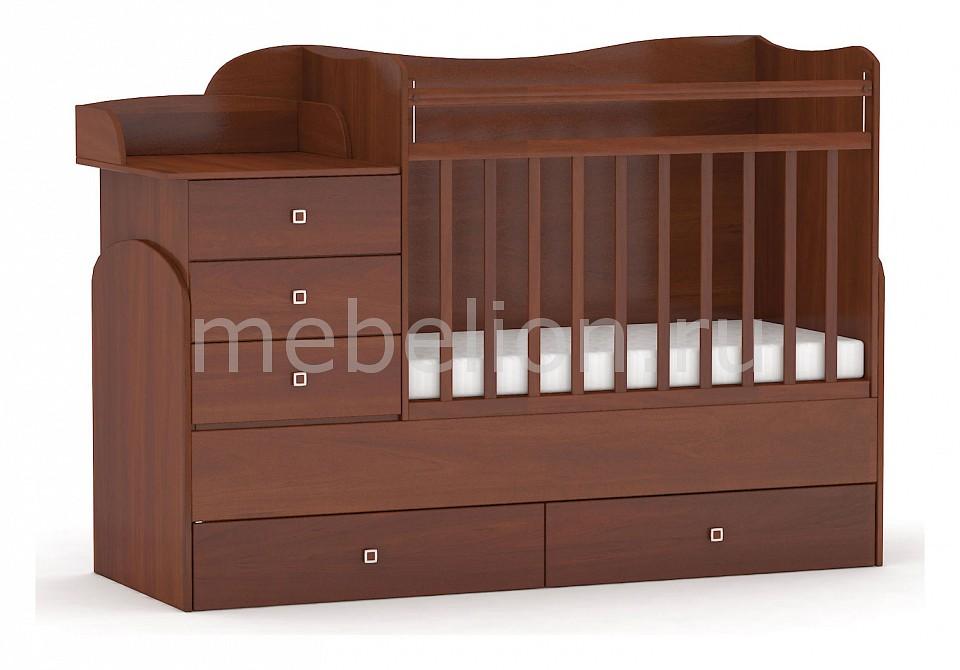 Кроватка-трансформер Фея 1400  как обтянуть пуфик кожей