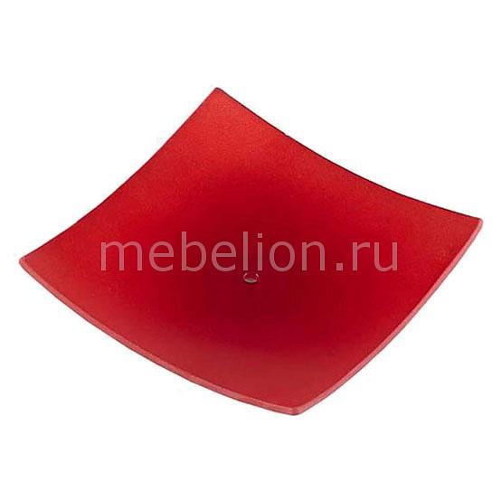 Плафон стеклянный 110234 Glass A red Х C-W234/X