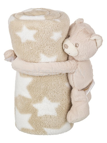 Плед детский АРТИ-М (75х100 см) Звездный мишка статуэтка арти м 37 см дама 50 029