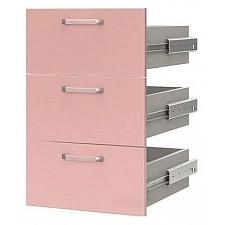 Ящики для шкафа Флауэ СТЛ.093.12 шелк розовый