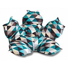 Кресло-мешок Цветок Изумруд