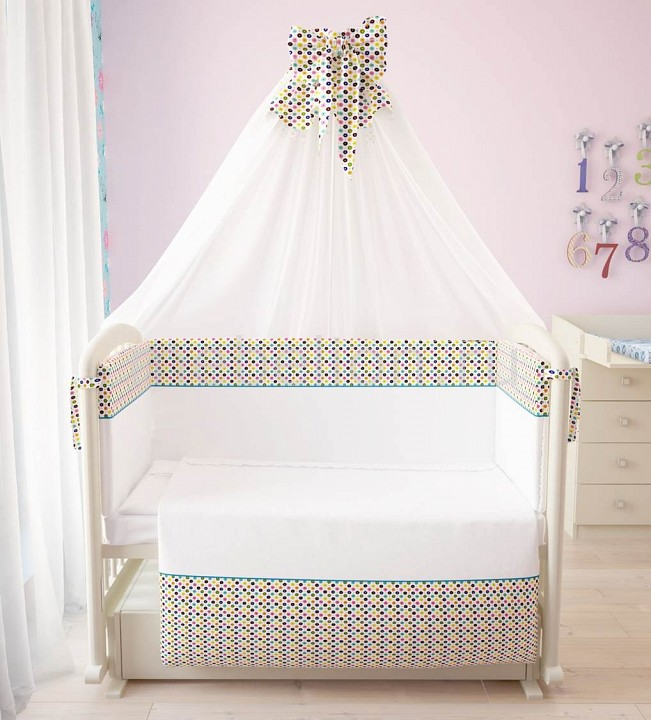 Комплект с одеялом детский Фея Конфетти комплект galtex медвежата 147x112 150x100 40x60 бязь mix 1477446
