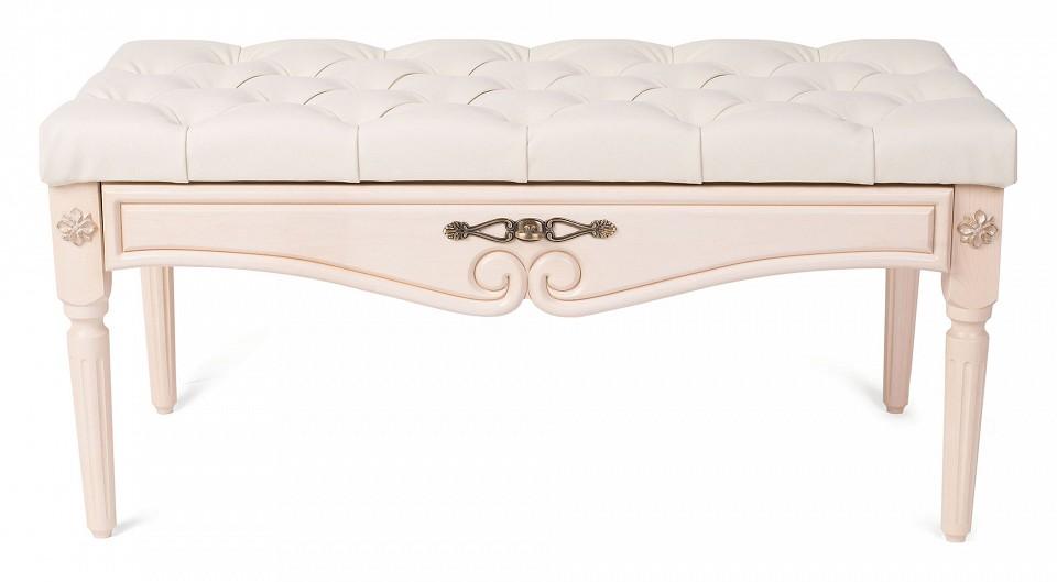Банкетка Мебелик Сильвия банкетка мебелик сильвия эко кожа молочный белый ясень