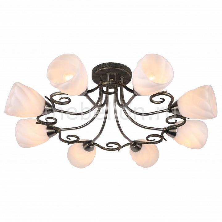 Arte Lamp Swirls A6253PL-8BA люстра a6253pl 8ba arte lamp