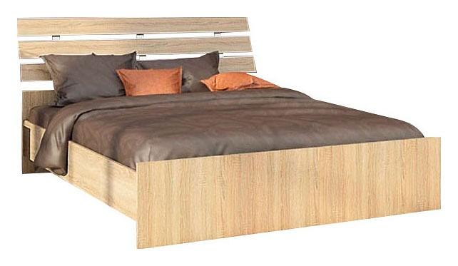 Купить Кровати двуспальные Сиеста СТЛ.138.05 дуб сонома  Кровать двуспальная Столлайн