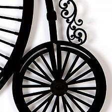 Настенные часы (78.9х71.5 см) RETRO BICYCLE 04008bk0