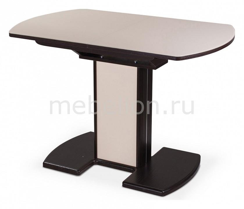 Стол обеденный Чинзано ПО со стеклом
