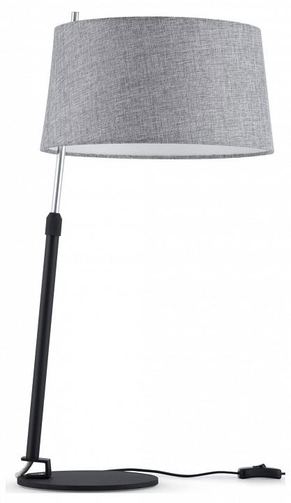 Настольная лампа декоративная Maytoni Bergamo MOD613TL-01B настольная лампа декоративная maytoni indiana mod544tl 01b