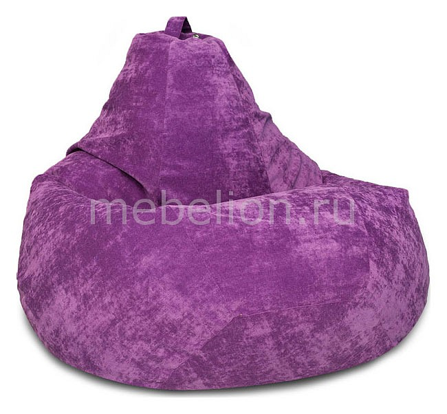 Кресло-мешок Dreambag Фиолетовый Микровельвет XL цена