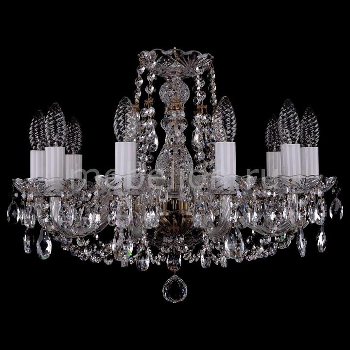 Подвесная люстра Bohemia Ivele Crystal 1406/10/160/Pa 1406