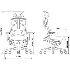Кресло компьютерное 811 черное