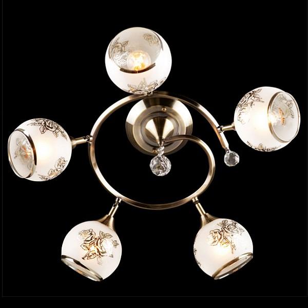Eurosvet 9611/5 античная бронза/белый