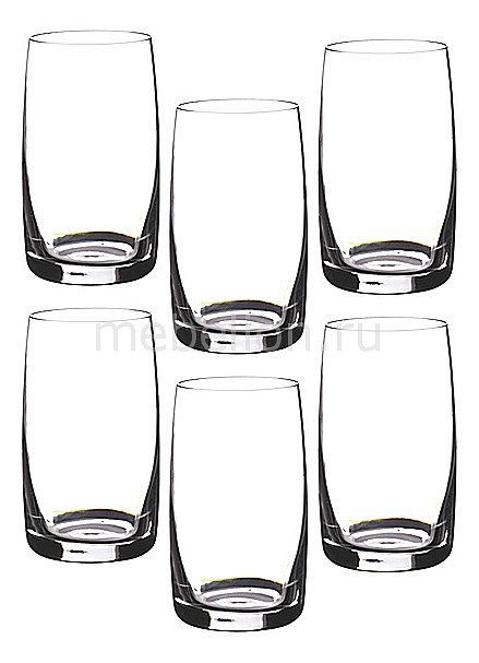 Набор стаканов АРТИ-М Набор из 6 стаканов Идеал 669-050 набор стаканов идеал 6шт 380мл вода отводка золото стекло