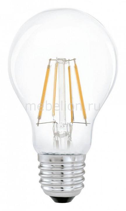 Лампа светодиодная Eglo Filament E27 4Вт 2700K 11491 лампа светодиодная eglo g95 e27 4вт 2700k 11502