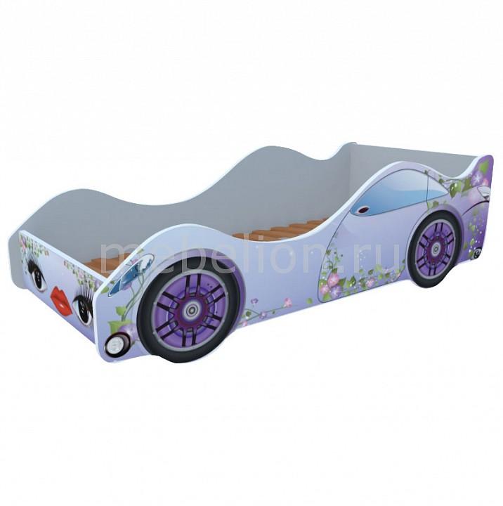 Кровать-машина Сирень M052