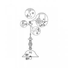 Подвесной светильник Globo 60208H Odin