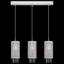 Подвесной светильник 1181/3 хром