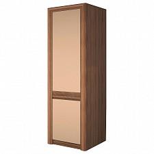 Шкаф платяной Камелия-2 ясень шимо темный/капучино