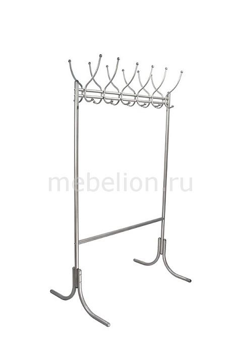 Вешалка напольная Мебелик Вешалка гардеробная М-11 металлик