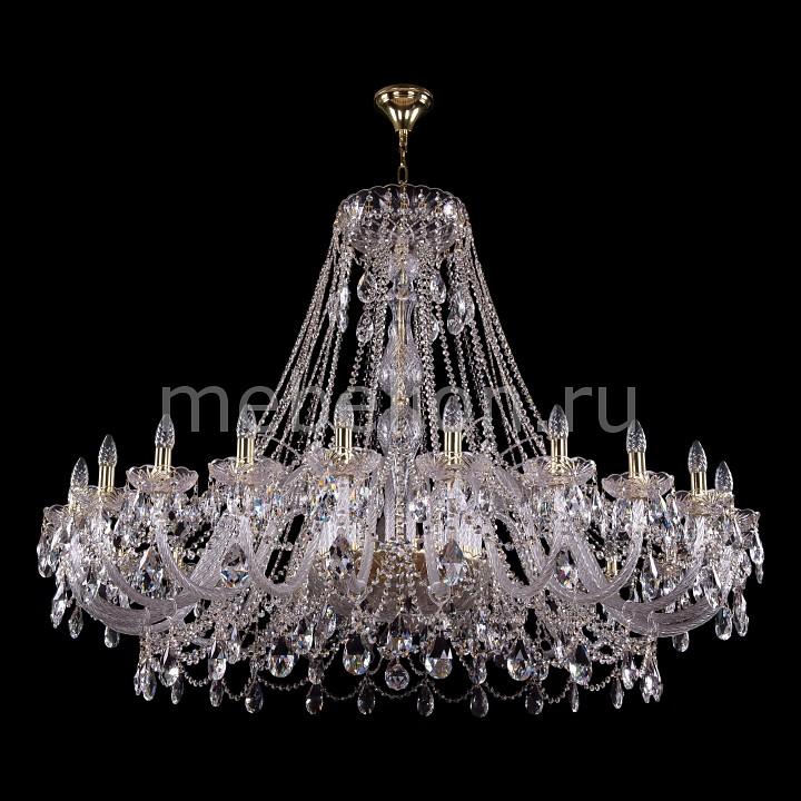 Подвесная люстра Bohemia Ivele Crystal 1411/24/530-115/G 1411