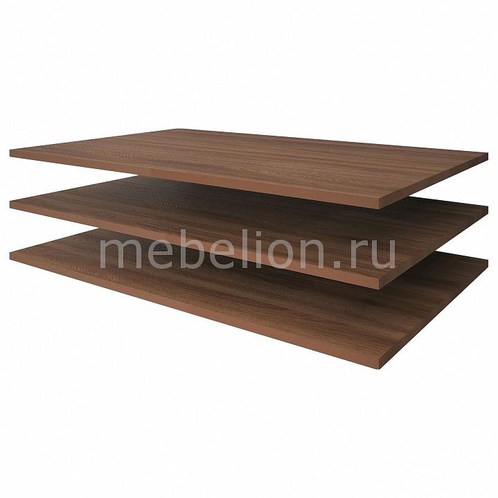 Полка Олимп-мебель Полки Стелла 06.197 (846) ясень шимо темный цены