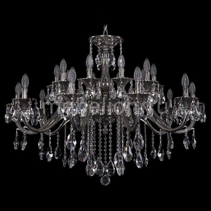 Подвесная люстра Bohemia Ivele Crystal 1703/20/360/B/NB 1703