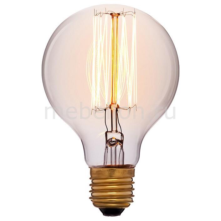 Лампа накаливания Sun Lumen G80 E27 220В 60Вт белый теплыйK 052-207а