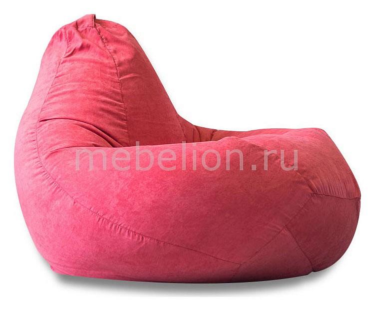 Кресло-мешок Розовая замша II