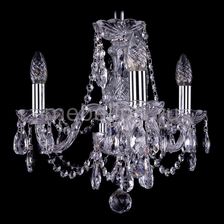 Подвесная люстра Bohemia Ivele Crystal 1406/3/141/Ni 1406