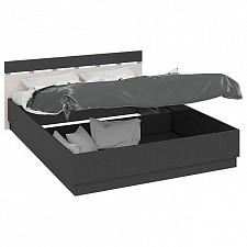Кровать двуспальная Сити СМ-194.01.002 тексит/каттхилт