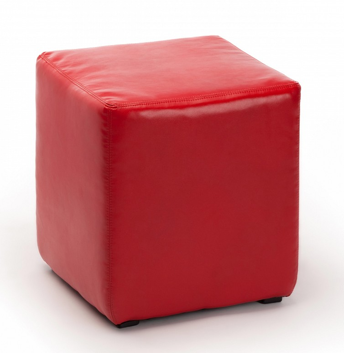 Пуф ПФ-4 красный