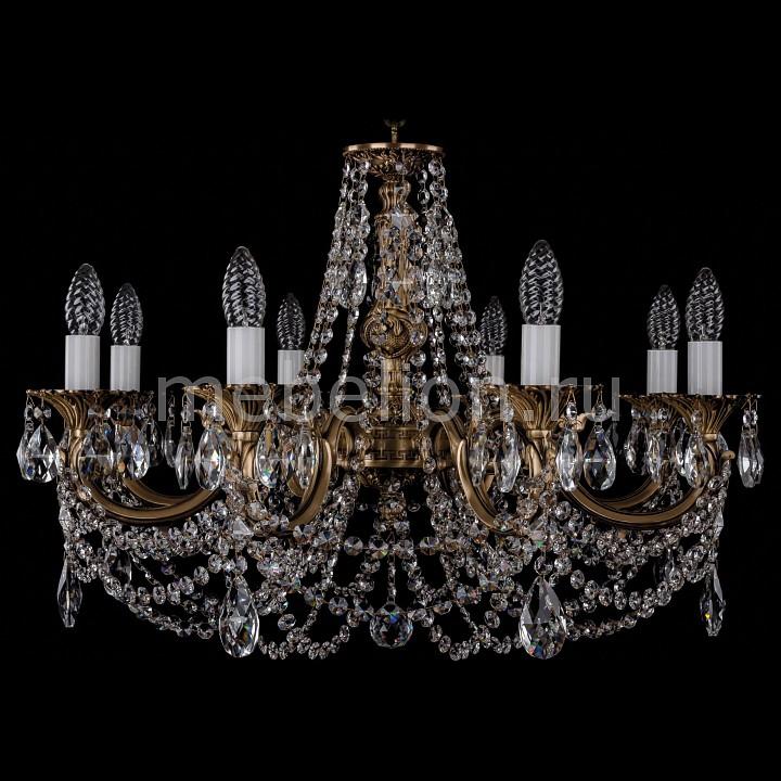 Подвесная люстра Bohemia Ivele Crystal 1702/8/C/FP 1702