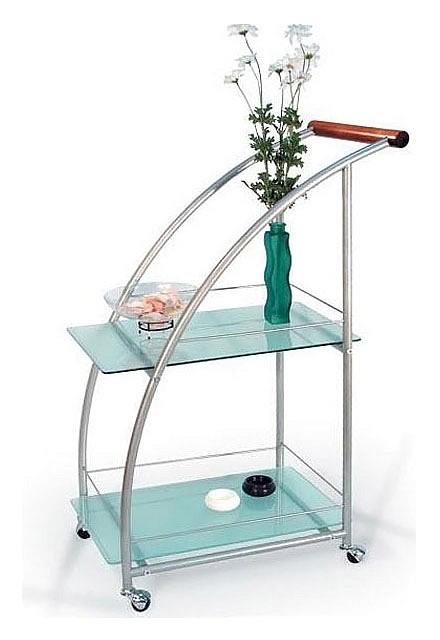 Стол сервировочный Баккара металлик