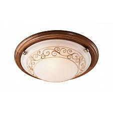 Накладной светильник Barocco Wood 334