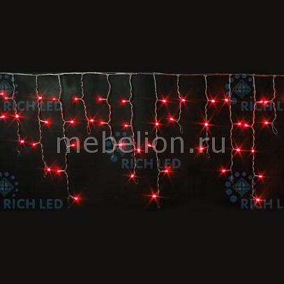 Бахрома световая (3х0.5 м) RichLED RL-i3*0.5F-RW/R бахрома световая 3х0 5 м richled rl i3 0 5 rw ww