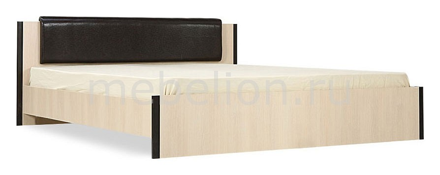 Кровать двуспальная Новелла СТЛ.105.02-01 дуб кремона/венге mebelion.ru 3890.000