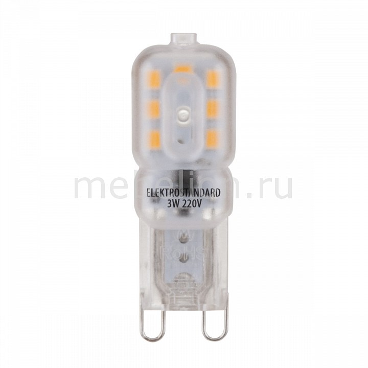 Лампы светодиодная Elektrostandard G9 LED 3W 220V 4200K g9 3w 200lm 6500k led cool white dimmable crystal light source white greyish white ac 220v