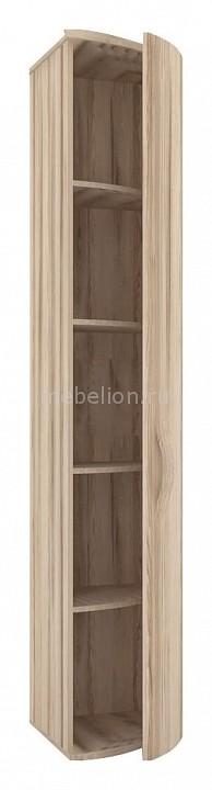 Шкаф платяной 124.070 Марта 07 с гнутой дверью правый белый/дезира эш