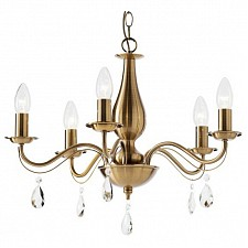 Подвесная люстра Arte Lamp A9369LM-5RB Amuleto