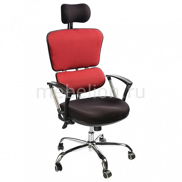 Кресло компьютерное Turin черный_бордовый