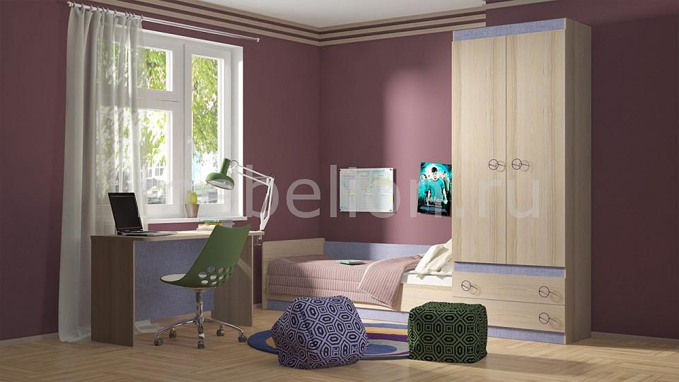 Гарнитур для детской Мебель Трия Индиго ГН-145.025 шкаф платяной угловой мебель трия шкаф платяной индиго пм 145 12 ясень коимбра навигатор
