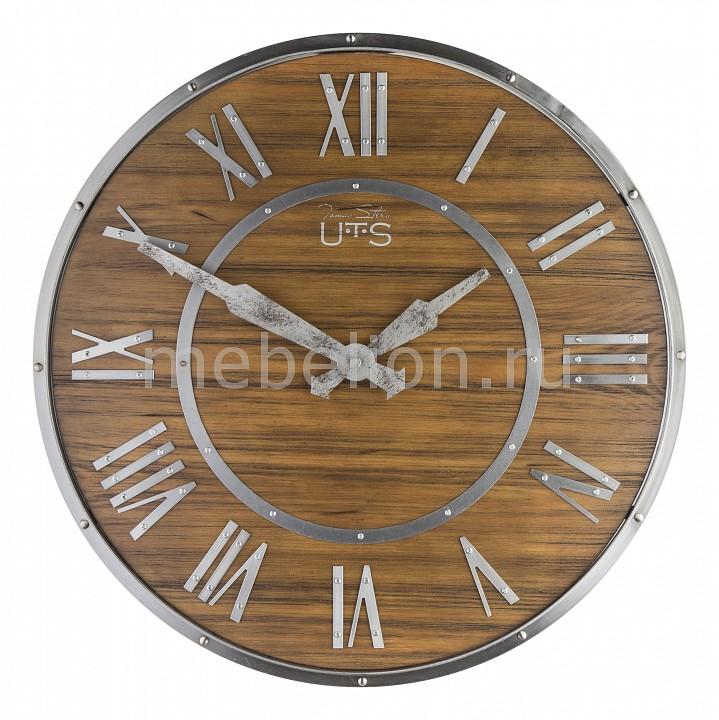 Настенные часы (45 см) TS 9035 Tomas Stern Артикул - ANK_9035, Бренд - Tomas Stern (Германия), Страна производителя - Германия, Серия - TS 9, Время изготовления, дней - 1, Выступ, мм - 50, Диаметр, мм - 450, Материал - МДФ, металл, Цвет - коричневый, серебряный, Тип поверхности - глянцевый, матовый, Необходимые компоненты - 1 батарейка АА, Дополнительные параметры - кварцевый механизм Young Town;корпус искусственно состарен;тихий дискретный (прерывистый) ход;точность хода: +/- 1 секунда в сутки