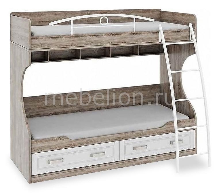 Кровать двухъярусная ТриЯ Прованс СМ-223.11.002
