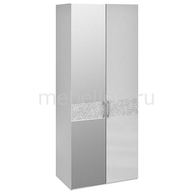 Шкаф платяной Амели СМ-193.07.004 L белый глянец