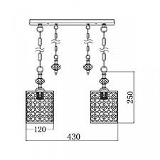 Подвесной светильник Maytoni F015-22-G Sherborn