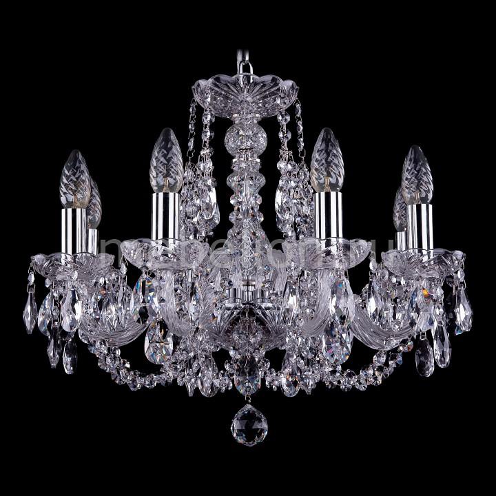 Подвесная люстра Bohemia Ivele Crystal 1406/8/160/Ni 1406