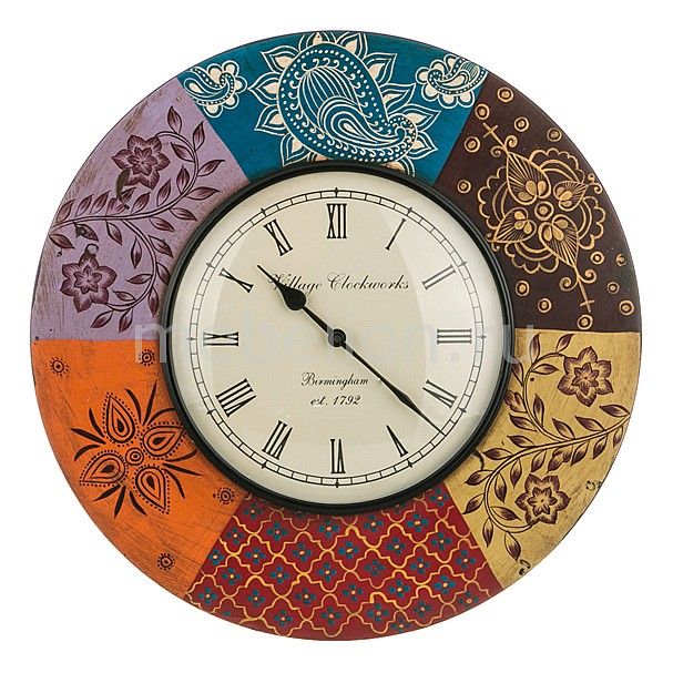 Настенные часы (45 см) Орнамент 875-155